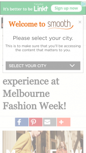 Smooth fm – Win A Night Out At Melbourne Fashion Week