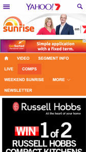 Channel Seven – Sunrise – Win One Of Two Russell Hobbs Compact Kitchen Closes @10am