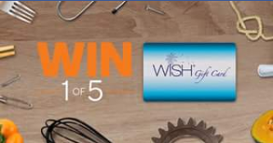 Woolworths rewards –  Win 1 Of 5 $100 Woolworths Wish Egift Cards  (prize valued at  $500)