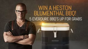 9Now – Today – Win 1 of 5 Everdure by Heston Blumenthal BBQs