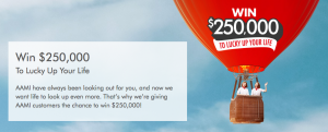 AAMI – Win $250,000 To Lucky Up Your Life