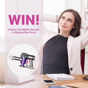 ACCO Brands – Marbig – Spring Cleaning – Win a Dyson Handheld Vacuum PLUS a Marbig Prize pack valued at $410