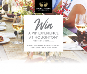 Accolade Wines Australia – Win a VIP Experience at Houghton Winery, WA valued at up to $5,000 (including flights)