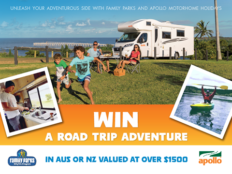 Apollo Motorhome Holidays – Win a Road Trip Adventure around Australia or New Zealand