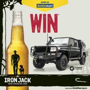 Bottlemart – Iron Jack – Win a Patriot Camper valued at $130,875