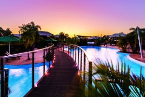 Bound Round – Win a holiday package for 4 including 4-night accommodation at Oaks Cable Beach Sanctuary, WA valued at AU$1,500