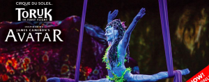 Broadway Sydney – Win 1 of 5 double passes to Cirque Du Soleil at Qudos Bank Arena Sydney valued at over $199 each