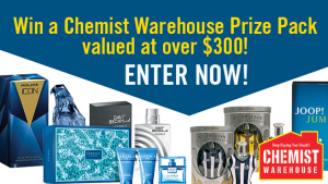 Channel 7 – Sunrise – Father's Day – Win a Chemist Warehouse prize pack valued at over $300