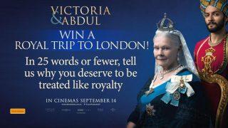 Channel 7 – Sunrise – Victoria & Abdul – Win a Royal Trip to London