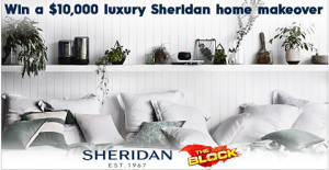 Channel 9 – The Block – Win a $10,000 luxury Sheridan home makeover