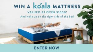 "Channel Seven – Sunrise Family Newsletter ""Koala Mattress"" – Win a Koala Mattress valued at $1,000"