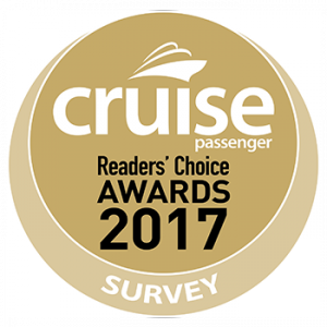 Cruise Passenger – Reader's Choice Awards 2017 – Vote for a chance to Win an iPad