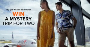 French Connection – Win a Mystery Trip for 2 valued at $9,000