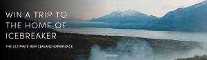 Ice Breaker – Win a trip for 2 to the home of IceBreaker NZ' valued at $8,000 NZD