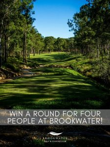 Inside Golf – Win 1 of 2 prizes of an experience the newly renovated Brookwater Golf & Country Club with 3 friends