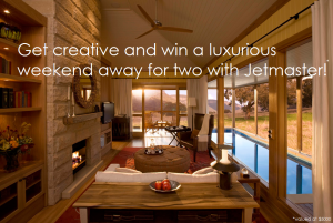 Jetmaster Fireplace – Win a luxurious weekend away for 2 in The Wolgan Valley (including 2 return flights)