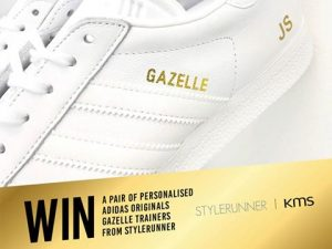 961b6c481e999 Kao Australia – Win 1 of 50 Pairs of Adidas Originals Personalized Gazelle  sneakers valued at