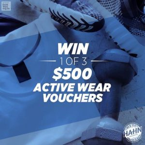 Lion-Beer, Spirits & Wine – Hahn – Win 1 of 3 Retail Sports vouchers redeemable at any Rebel Sports outlet valued at $500 each
