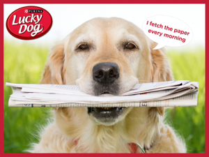 Nestle Purina PetCare – Lucky Dog – Win a Year's supply of Lucky Dog Dry Dog Food valued at $230 AUD