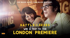 Network Ten – Battle of the Sexes – Win a prize package including a trip for 2 to London valued at up to $10,250