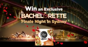 Network Ten – The Bachelorette One Night in Mexico – Win a major prize of a trip for 4 to Sydney OR 1 of 10 minor prize packages