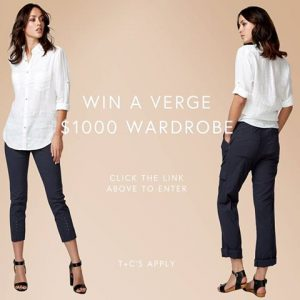 Verge – Sisterhood – Win $1,000 Verge Wardrobe