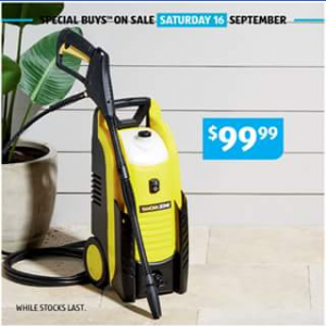 Aldi Australia – Win A High Pressure Cleaner  (prize valued at $99.99)