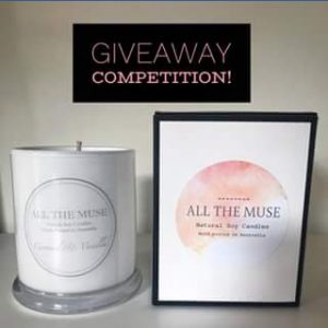 All The Muse Candles – Win a Caramel & Vanilla Candle