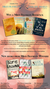 Allen  Unwin – Win One Of Six Miles Franklin Literary Award Book Packs