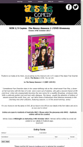 Aussie Comedy Kingdom – Win 1 Of 3 Copies Of The Classic Fran Drescher Sitcom