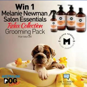 Australian Dog Lover – Win A Relax Collection Dog Grooming Pk  (prize valued at $95)