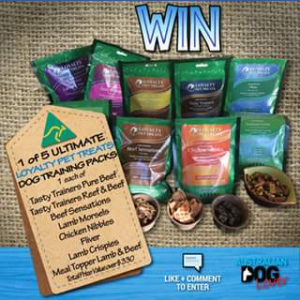 Australian Dog Lover – Win 1 Of 5 Ultimate Dog Training Packs From Loyalty Pet Treats