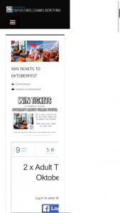 Australian Mum – Win Tickets To Oktoberfest
