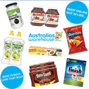 Australia's Warehouse – Win a $300 Voucher to use at Australia's Warehouse Online (prize valued at $300)