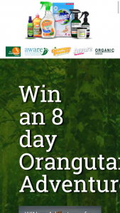 Aware Environmental – Win an 8 Day Orangutan Adventure (prize valued at $11,000)