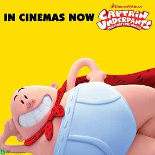 BCC Cinemas Toombul – Win a Captain Underpants Prize Pack