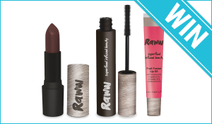 Beauty Heaven – Win 1 Of 5 Raww Prize Packs (prize valued at $750)