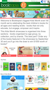 Booktopia – Win $1,000 Worth Of Books (prize valued at $1,000)