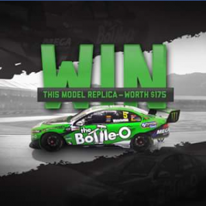 Bottle-O – Win A Limited Edition Bottle-O Racing Team 2017 Scale Model Replica