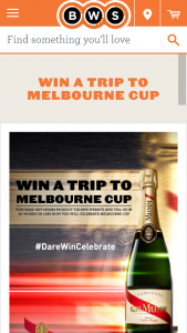 BWS – Win A Trip to Melbourne Cup 2017