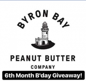 Byron Bay Peanut Butter – Win 4 Jars of Our Peanut Butter &#129372&#129372