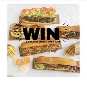 Calamvale Central – Win One of Ten Jersey Mike's Subs Australia Subs
