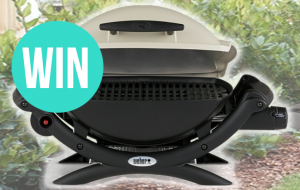 Caravanning With Kids – Win A Weber Q1000  (prize valued at $320)
