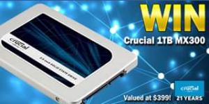 Centre Com – Win A Crucial 1tb Mx300 Ssd