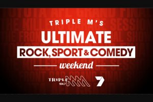 Triple M – Win The Ultimate Triple M Rock (prize valued at $4,650)