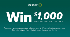 Nine Honey – Suncorp – Win $1,000 Cash