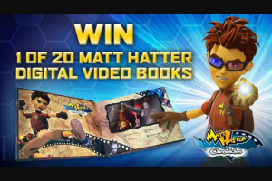 Channel Ten – Win 1 of 20 Matt Hatter Digital Video Books (prize valued at $2,500)