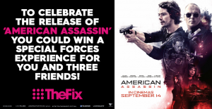 Channel 9/ The Fix / American Assasin – Win A Trip For Four (4) Adults To Sydney (prize valued at  $10,000)