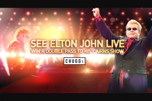 Channel 9 – Today Show – Win 1/15 Double Passes to Elton John Concert Incairns (prize valued at $2,970)