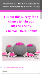 Charmed Aroma – Win A New 'charcoal' Bath Bomb